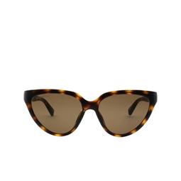 Balenciaga® Cat-eye Sunglasses: BB0149S color Havana 002.
