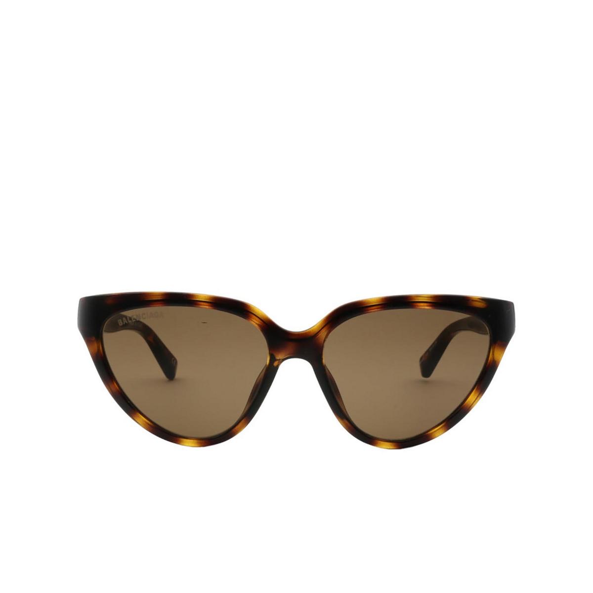 Balenciaga® Cat-eye Sunglasses: BB0149S color Havana 002 - 1/2.
