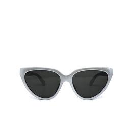 Balenciaga® Cat-eye Sunglasses: BB0149S color Silver 003.