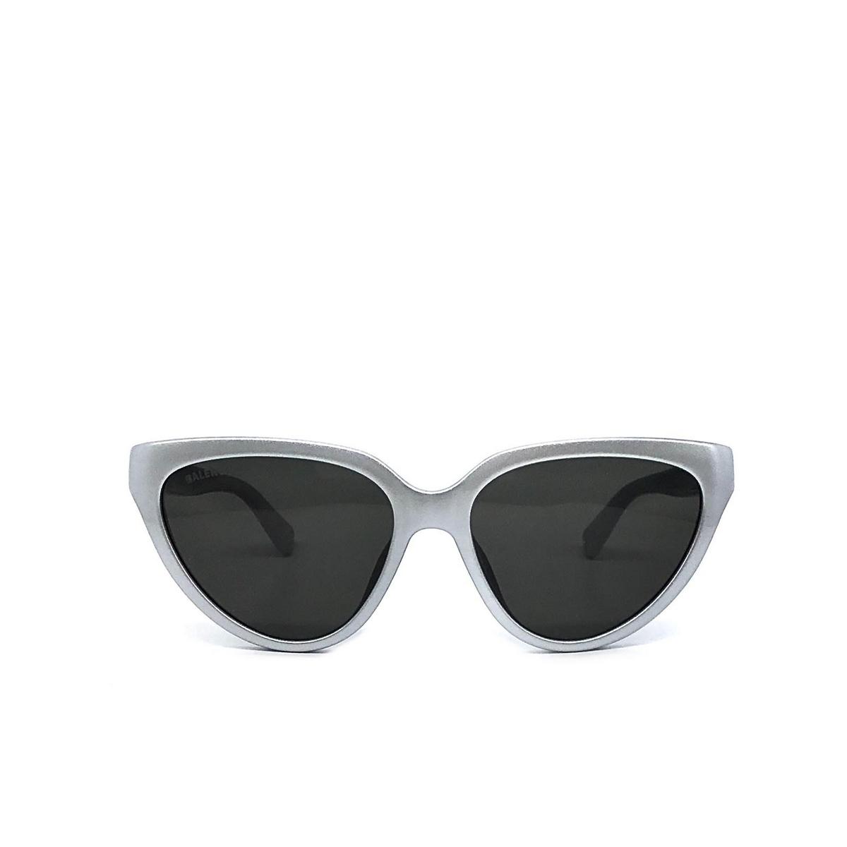 Balenciaga® Cat-eye Sunglasses: BB0149S color Silver 003 - front view.