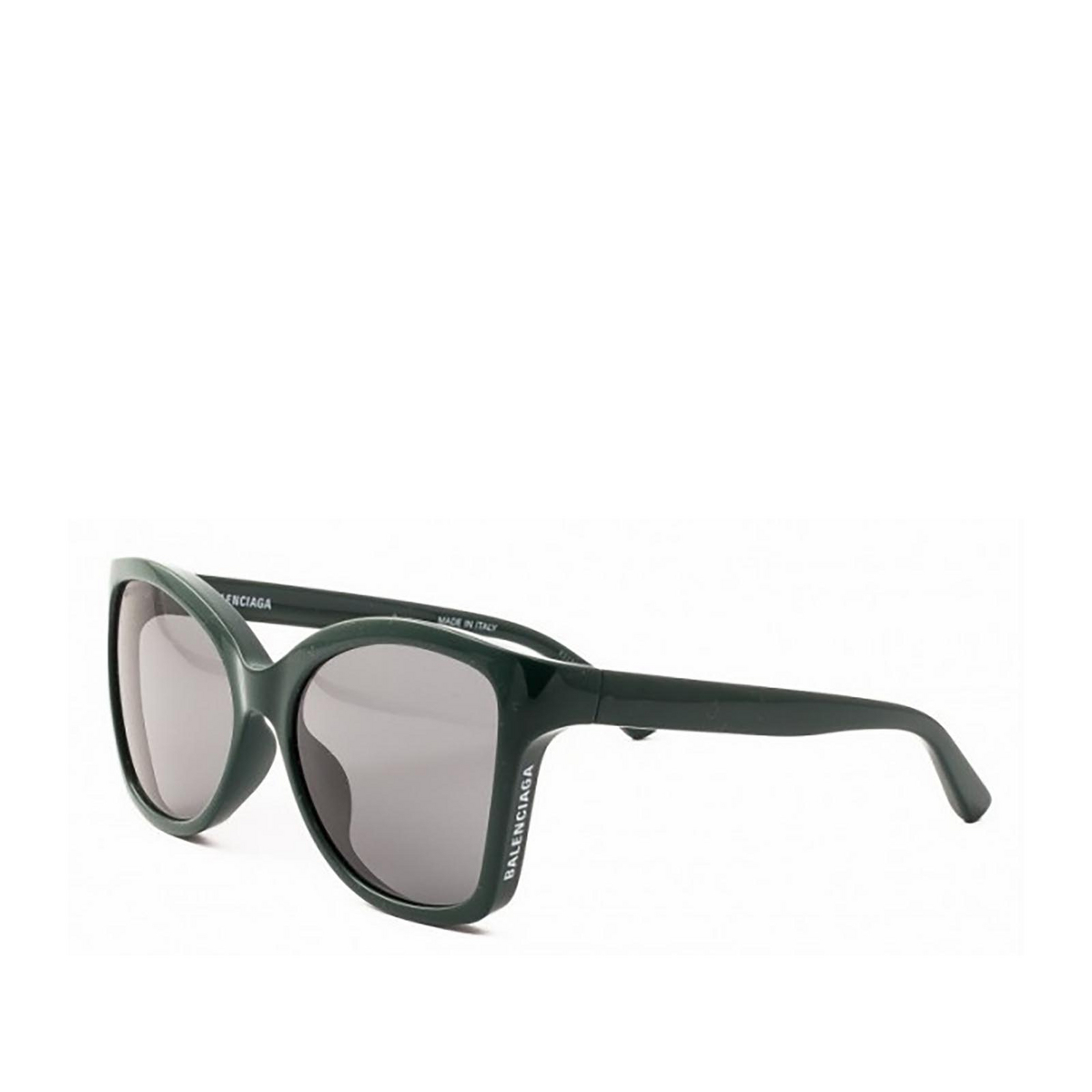 Balenciaga® Butterfly Sunglasses: BB0150S color Black 001 - three-quarters view.