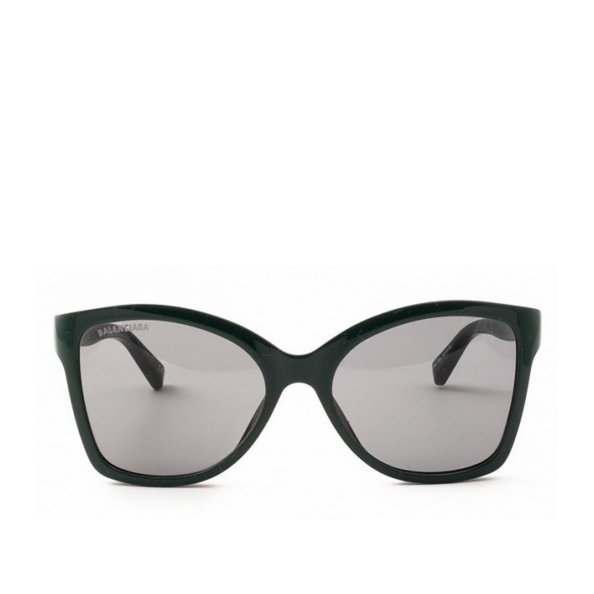 Balenciaga® Butterfly Sunglasses: BB0150S color Black 001 - front view.