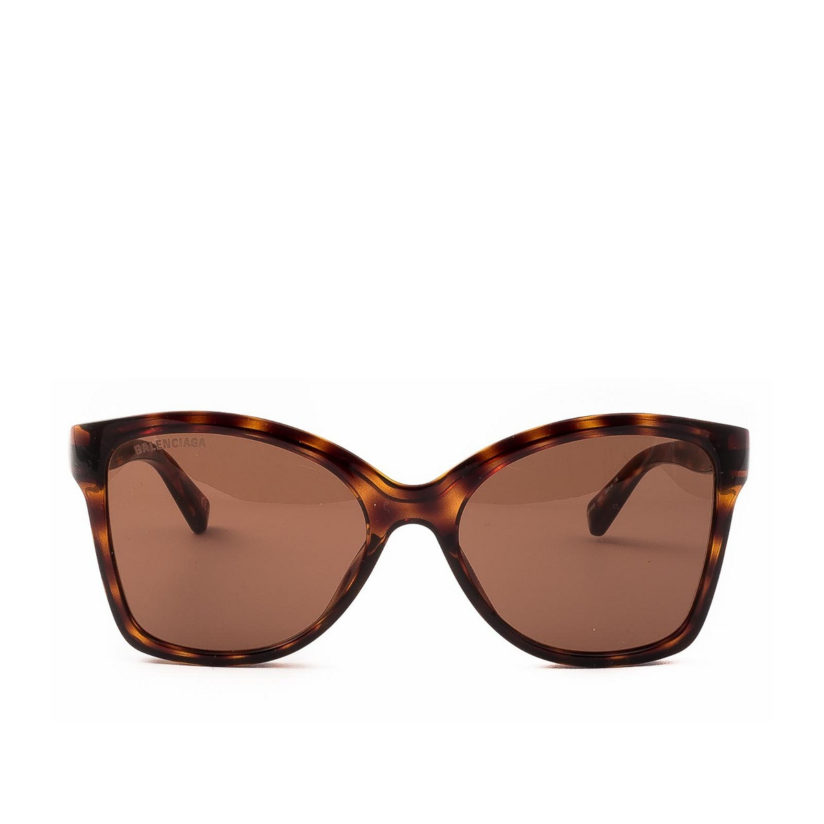 Balenciaga® Butterfly Sunglasses: BB0150S color Havana 002 - front view.