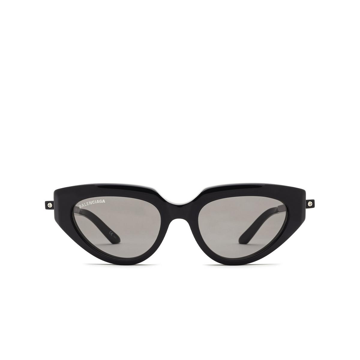 Balenciaga® Cat-eye Sunglasses: BB0159S color Grey 002 - front view.