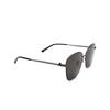 Balenciaga® Square Sunglasses: BB0165SA color Grey 001 - product thumbnail 2/3.