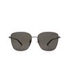 Balenciaga® Square Sunglasses: BB0165SA color Grey 001 - product thumbnail 1/3.
