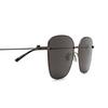 Balenciaga® Square Sunglasses: BB0165SA color Grey 001 - product thumbnail 3/3.