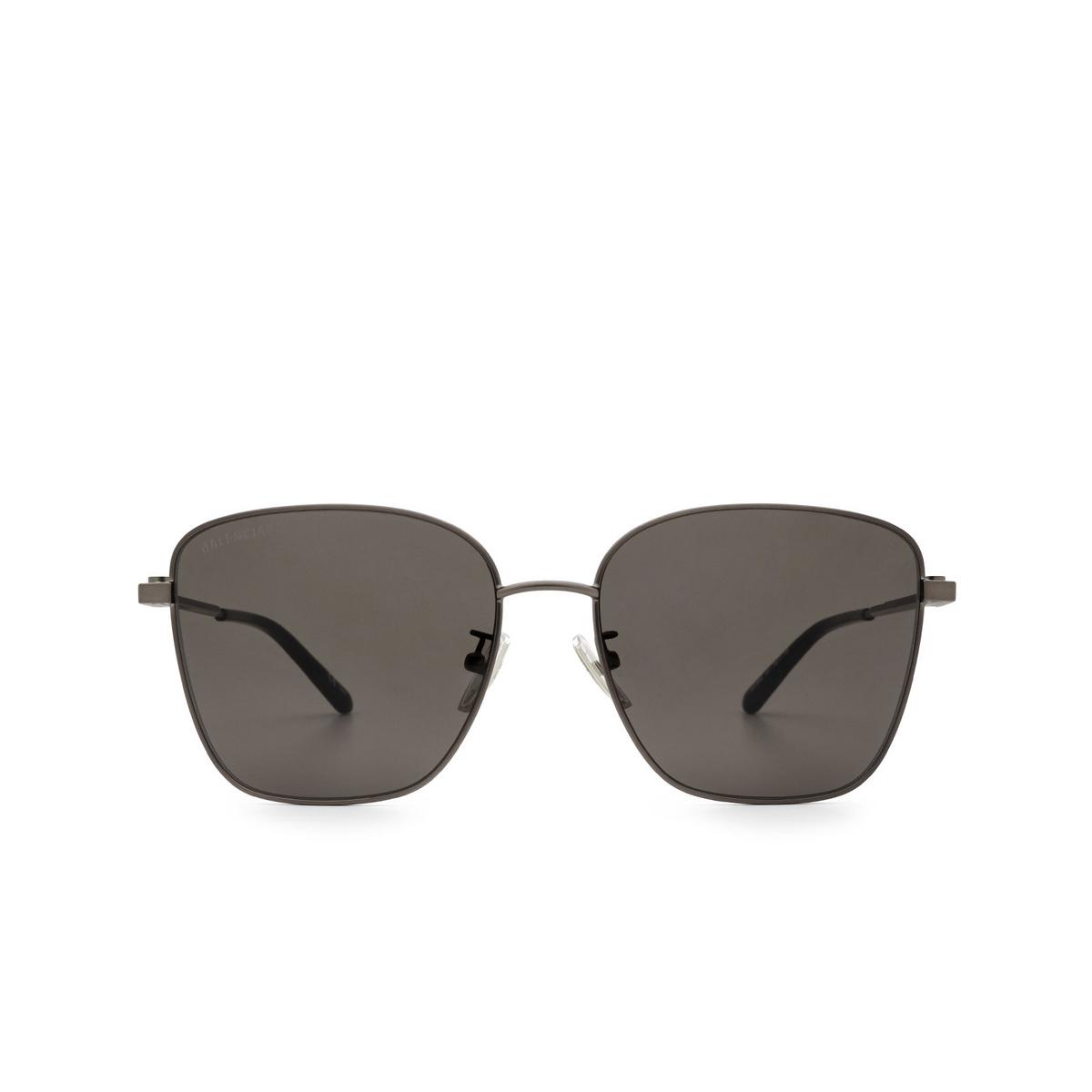 Balenciaga® Square Sunglasses: BB0165SA color Grey 001 - 1/3.