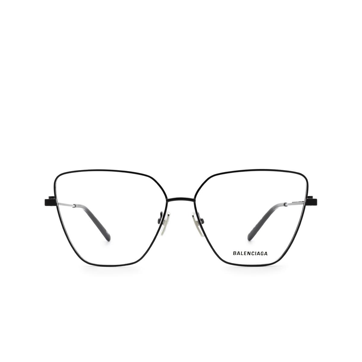 Balenciaga® Butterfly Eyeglasses: BB0170O color Black 003 - front view.