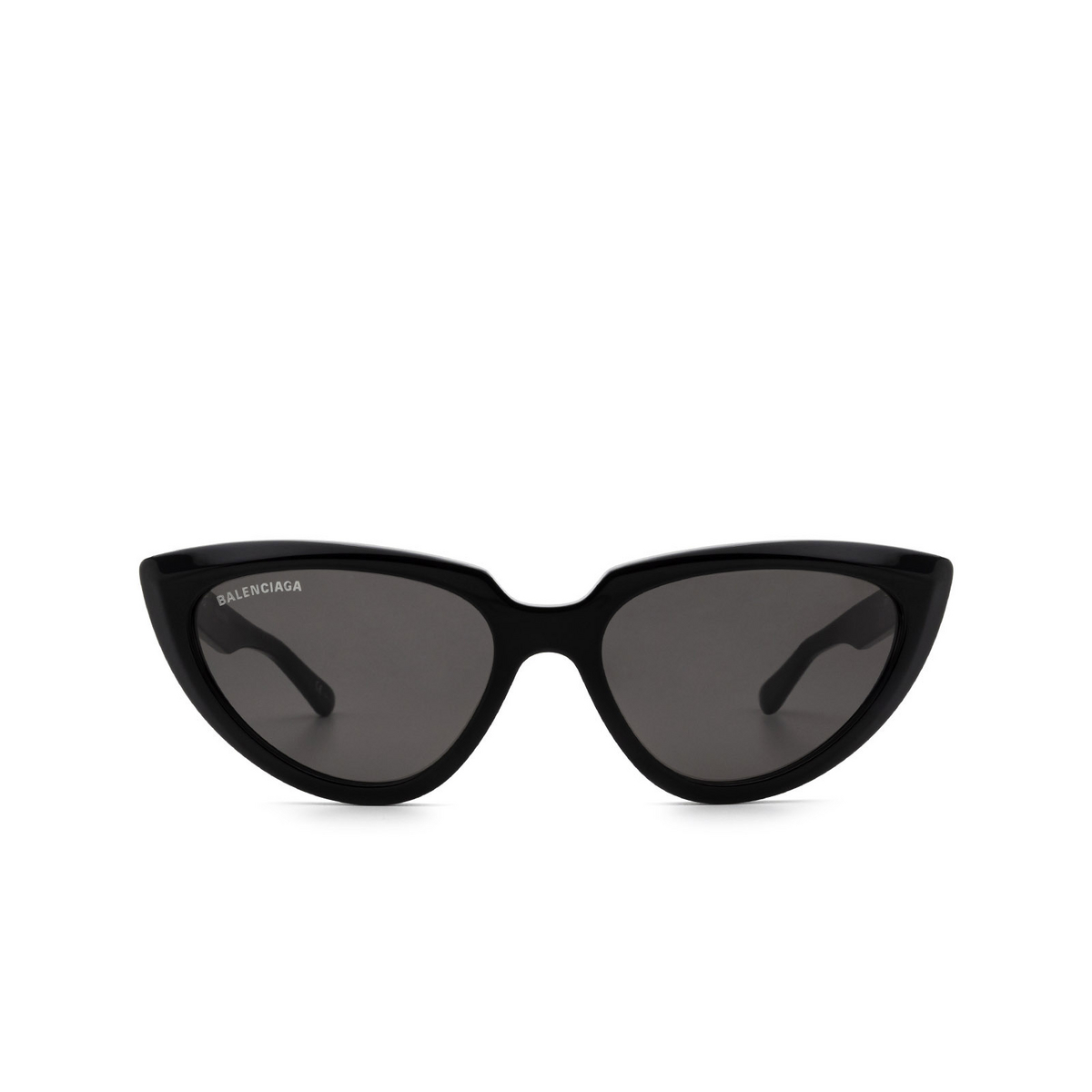 Balenciaga® Cat-eye Sunglasses: BB0182S color Black 001 - front view.