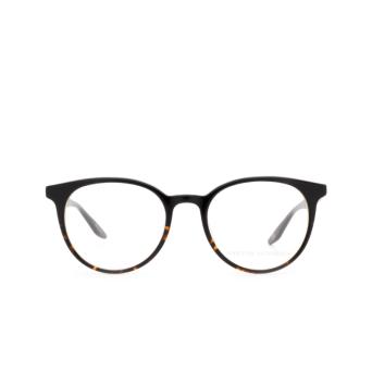 Barton Perreira® Round Eyeglasses: Auralea BP5087 color Black & Havana 0HY.