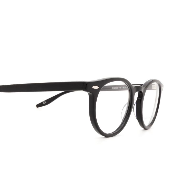 Barton Perreira® Round Eyeglasses: Banks BP5007 color Black 0EJ.