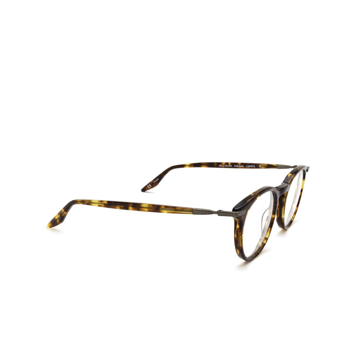 Barton Perreira® Round Eyeglasses: Capote BP5277 color Chestnut Antique Gold 0LZ - three-quarters view.