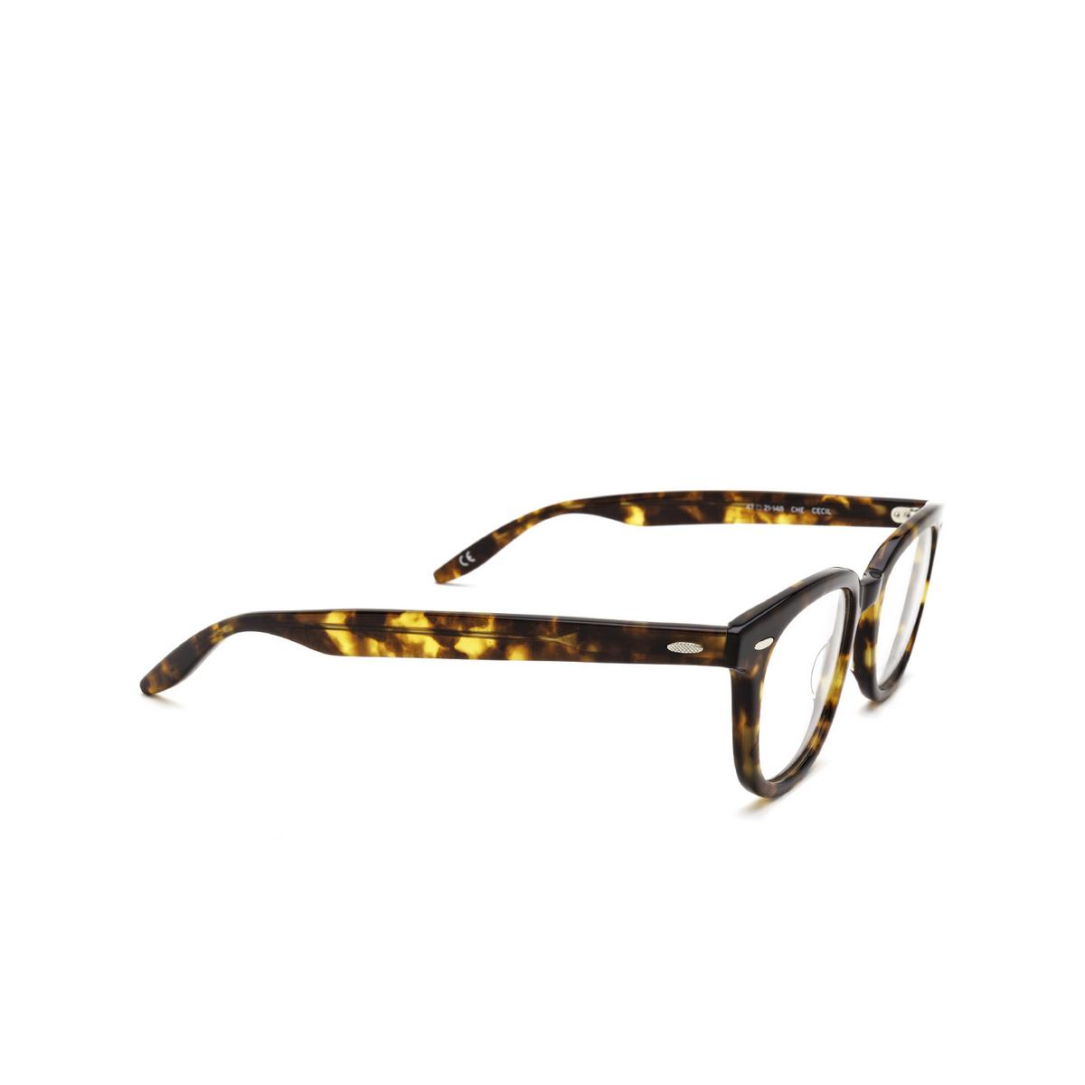 Barton Perreira® Square Eyeglasses: Cecil BP5273 color Chestnut 0LY - three-quarters view.
