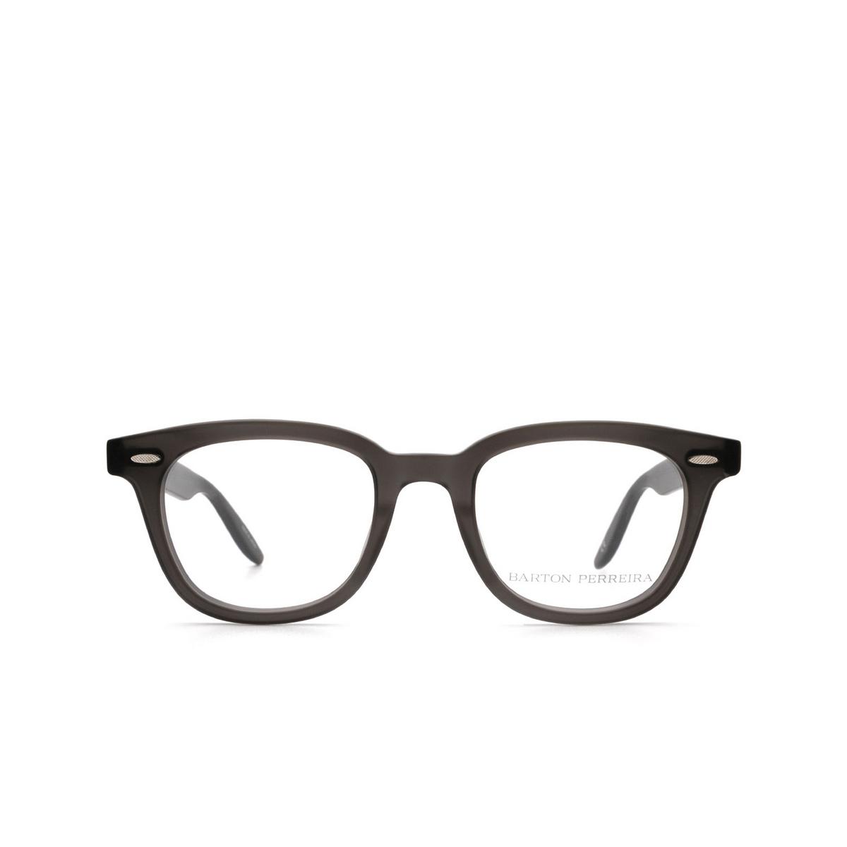 Barton Perreira® Square Eyeglasses: Cecil BP5273 color Grey 1KV - front view.