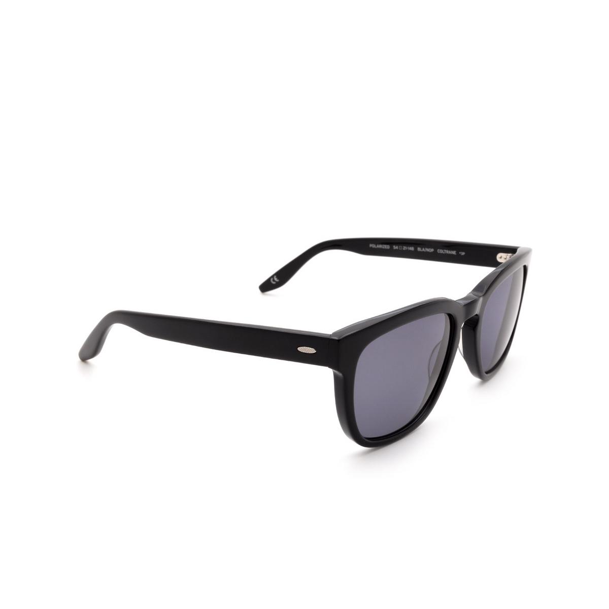 Barton Perreira® Square Sunglasses: Coltrane BP0013 color Black 0GE.