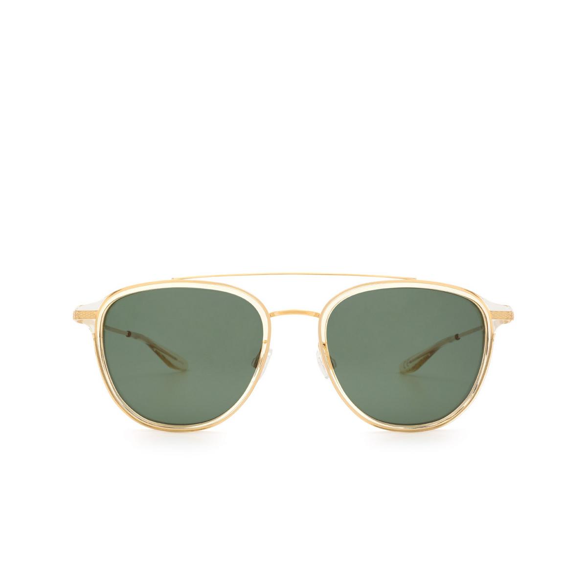 Barton Perreira® Square Sunglasses: Courtier BP0014 color Champagne 0KP.