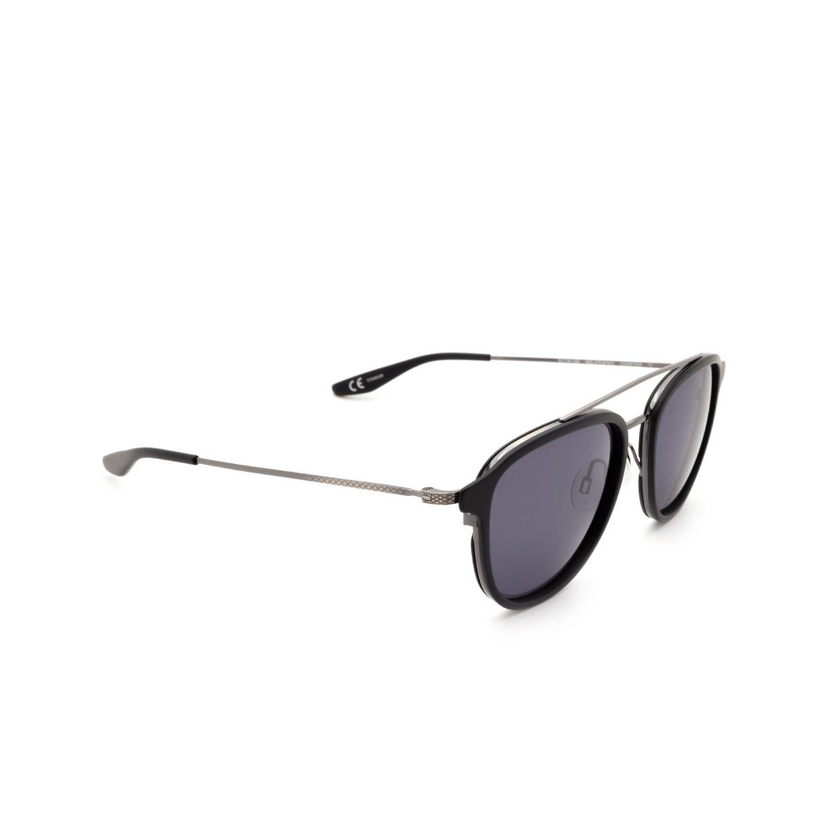 Barton Perreira® Square Sunglasses: Courtier BP0014 color Matte Black 1HM.