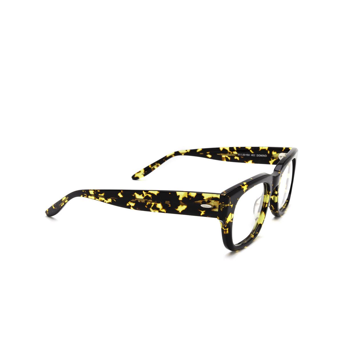 Barton Perreira® Square Eyeglasses: Domino BP5197 color Havana 1AB - three-quarters view.