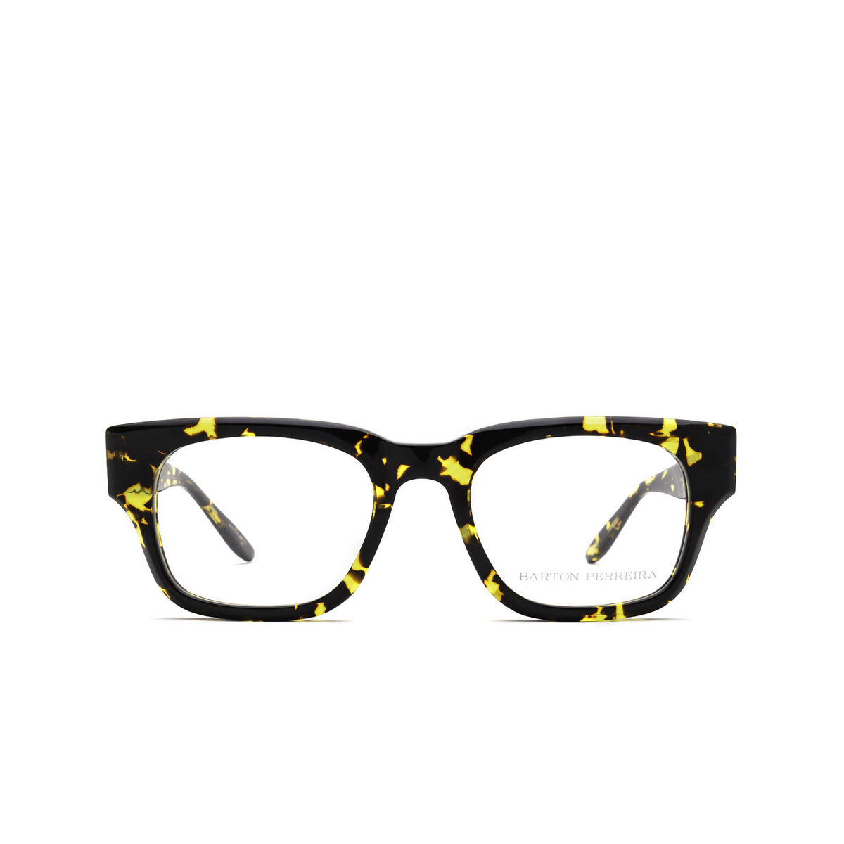 Barton Perreira® Square Eyeglasses: Domino BP5197 color Havana 1AB - front view.