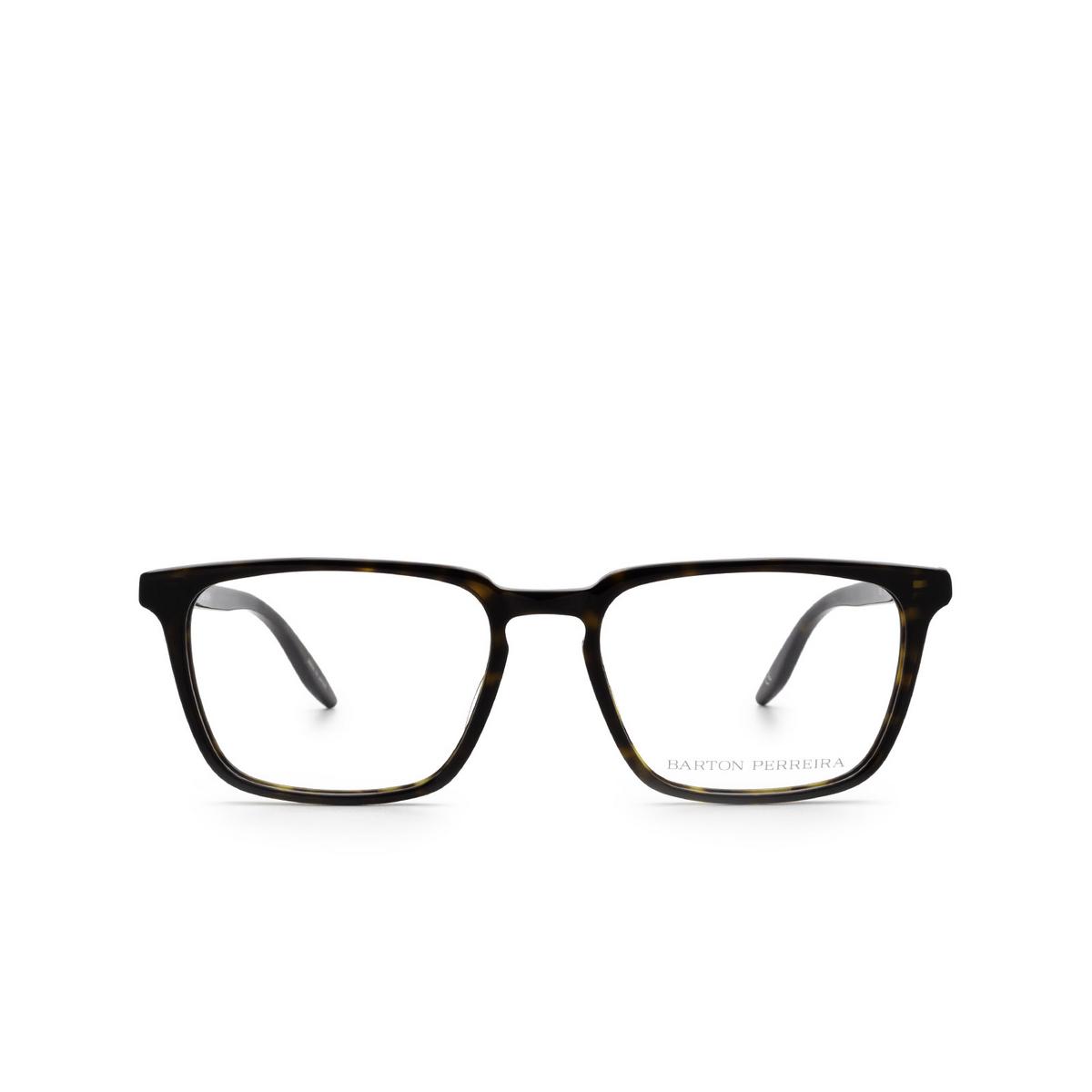Barton Perreira® Rectangle Eyeglasses: Eiger BP5054 color Dark Walnut 0PE - front view.
