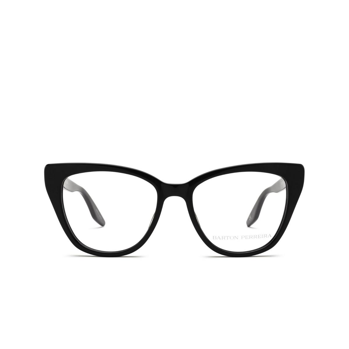 Barton Perreira® Cat-eye Eyeglasses: Falana BP5275 color Black 0EJ - front view.