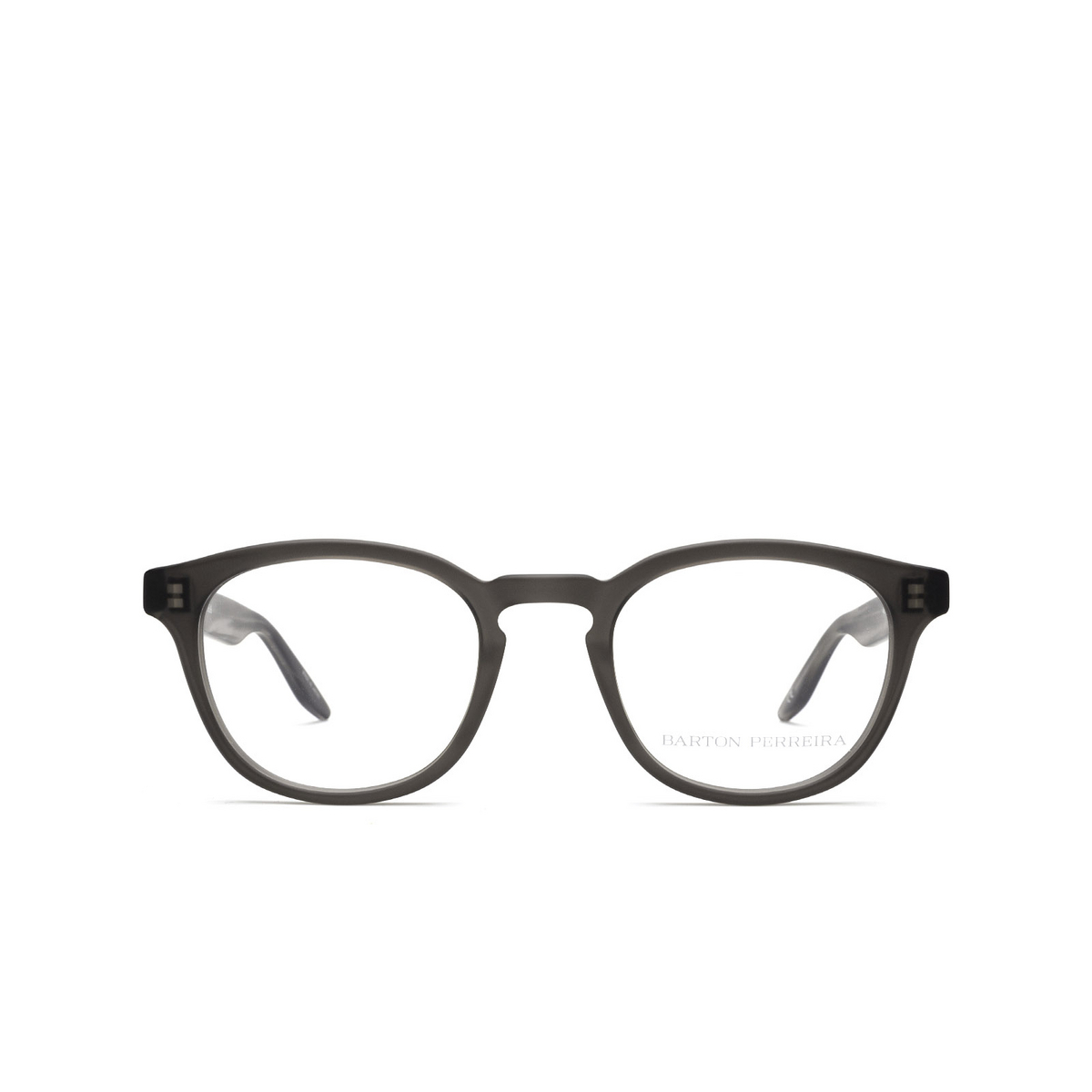 Barton Perreira® Square Eyeglasses: Gellert BP5027 color Matte Dusk Matte Grey 1KX - front view.