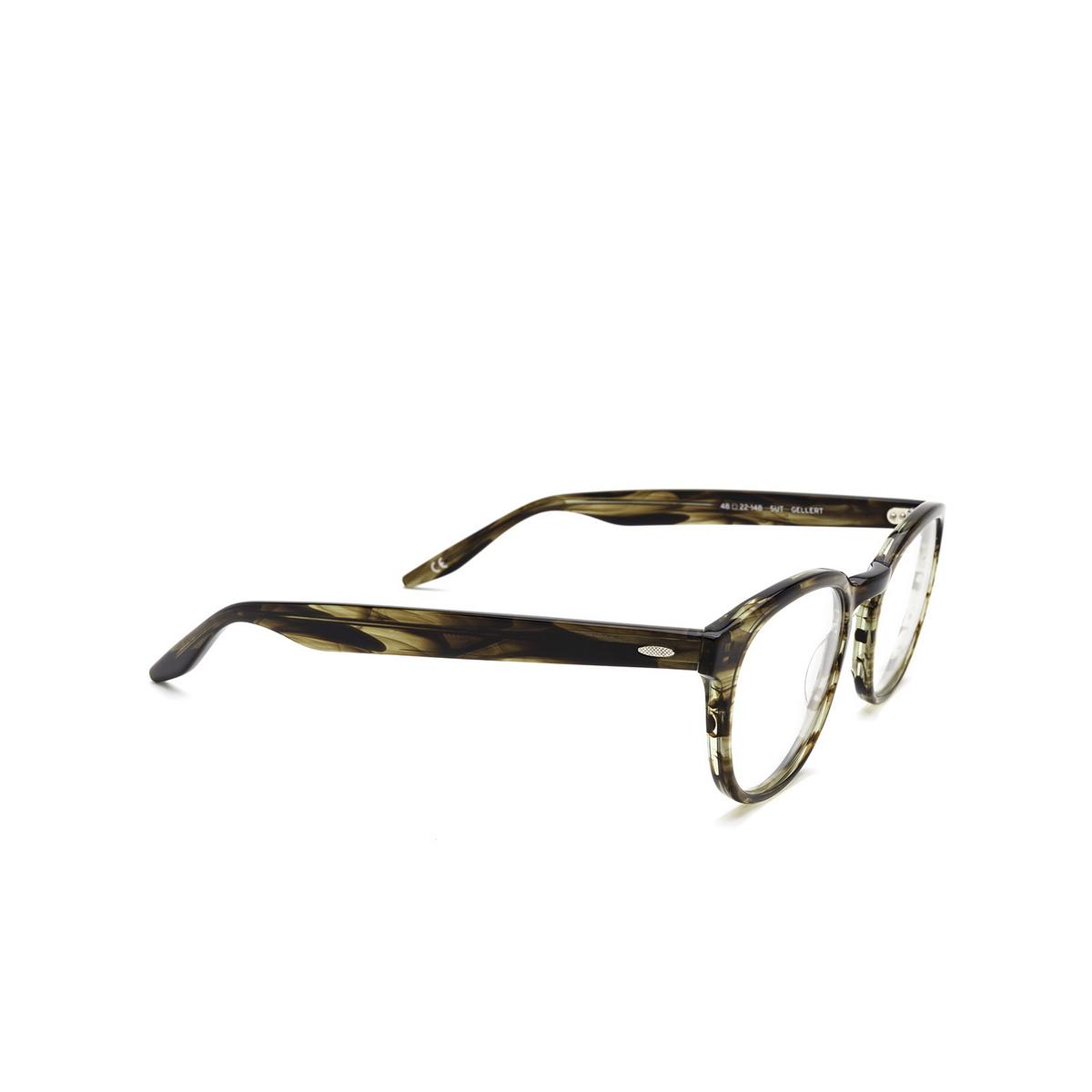 Barton Perreira® Square Eyeglasses: Gellert BP5027 color Sulcata Tortoise 2EJ - three-quarters view.