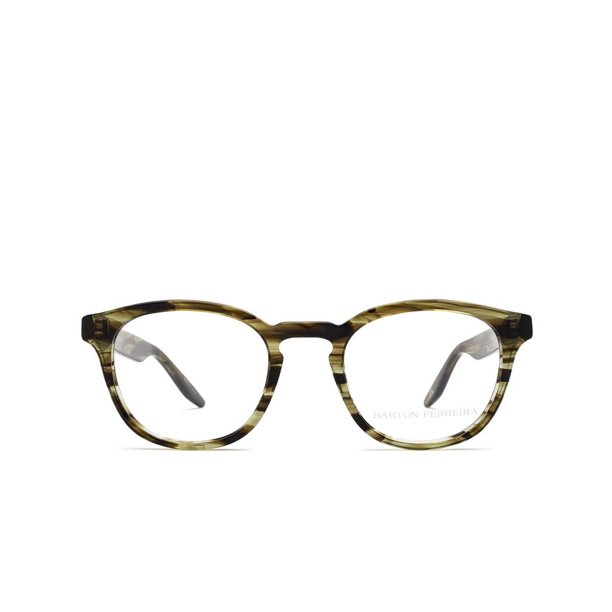 Barton Perreira® Square Eyeglasses: Gellert BP5027 color Sulcata Tortoise 2EJ - front view.