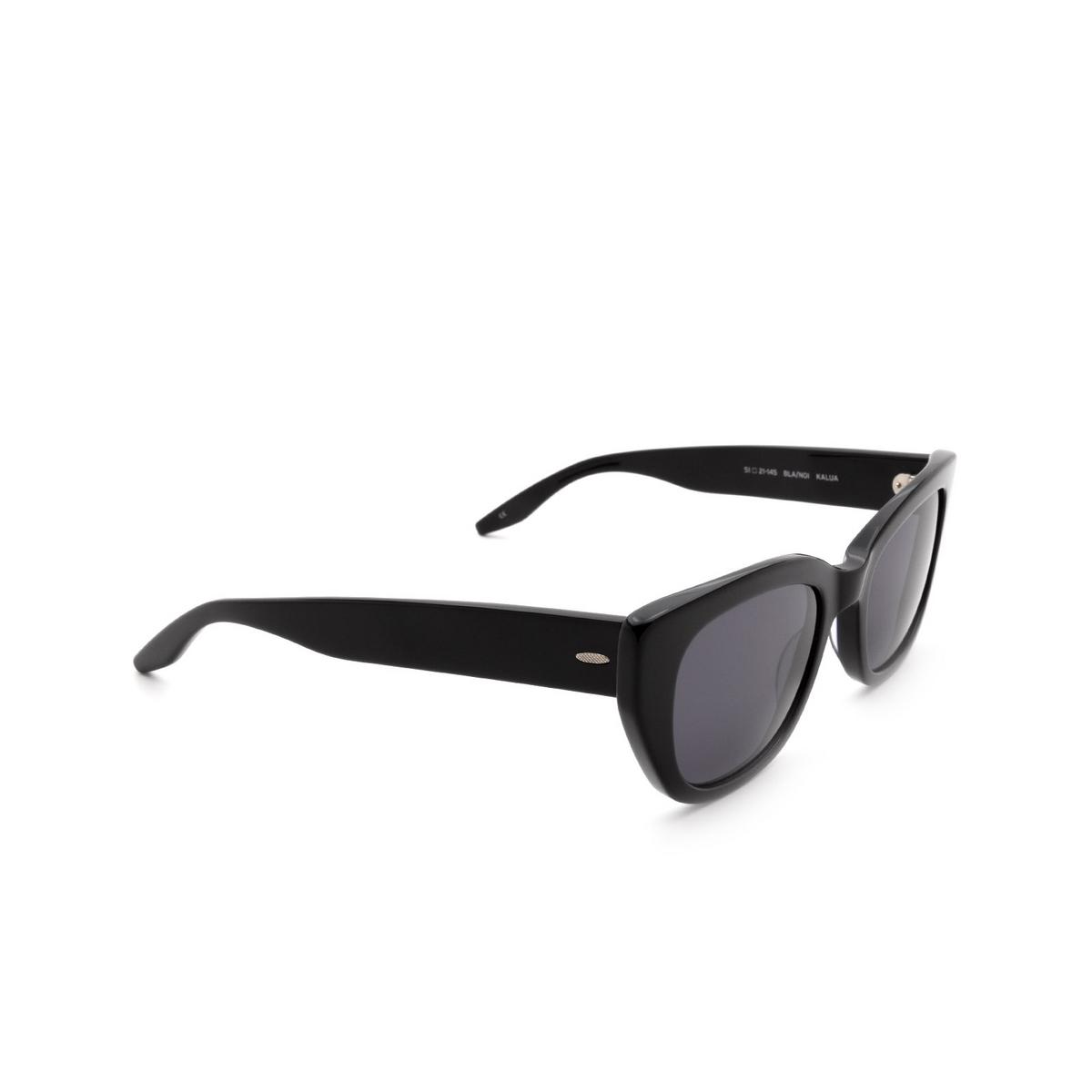 Barton Perreira® Cat-eye Sunglasses: Kalua BP0022 color Black 0GD.