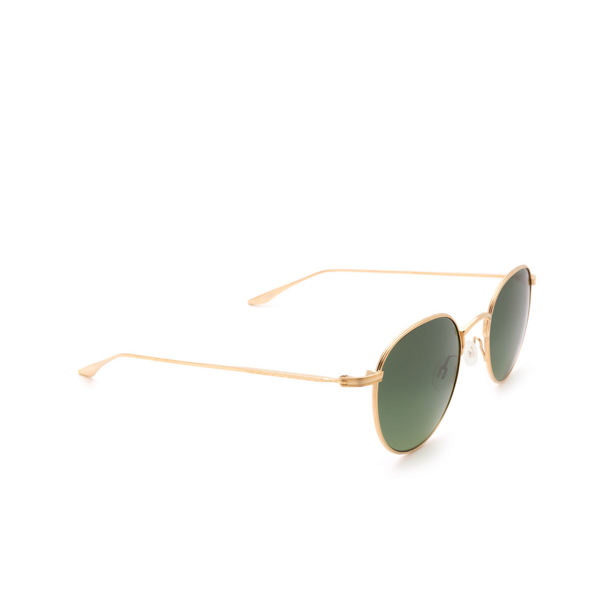 Barton Perreira® Round Sunglasses: Lancer BP0026 color Gold 0TT.