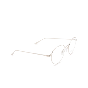 Barton Perreira® Round Eyeglasses: Langston BP5037 color Silver 1YC.