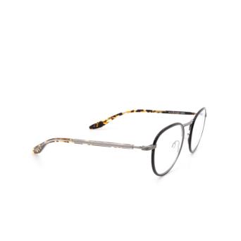 Barton Perreira® Round Eyeglasses: Lantz color Bla/pew.