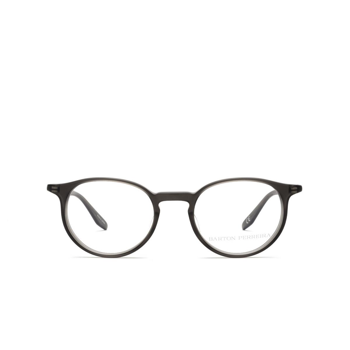 Barton Perreira® Round Eyeglasses: Norton BP5043 color Matte Dusk 1KV - front view.