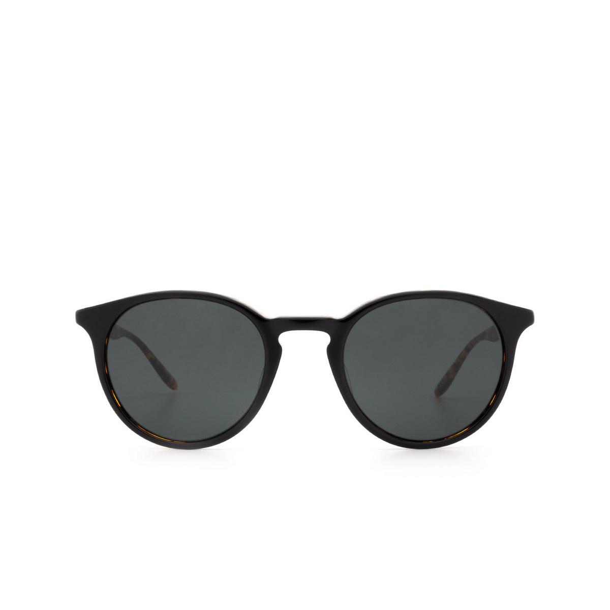 Barton Perreira® Round Sunglasses: Princeton BP0031 color Black & Havana 0DB.
