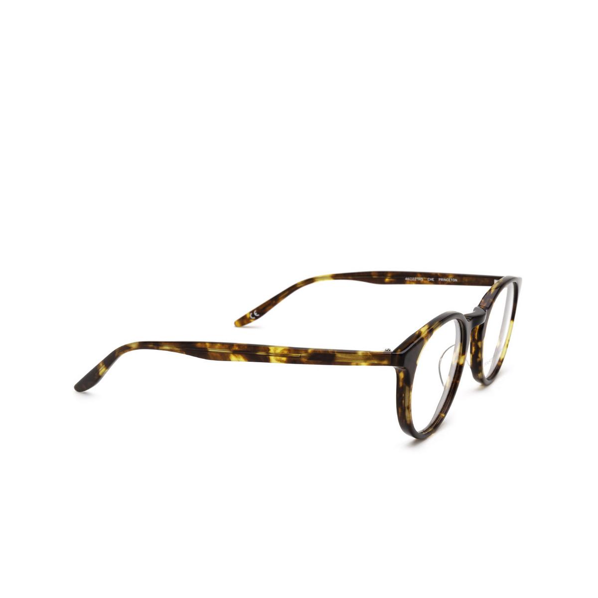 Barton Perreira® Round Eyeglasses: Princeton BP5045 color Chestnut 0LY - three-quarters view.