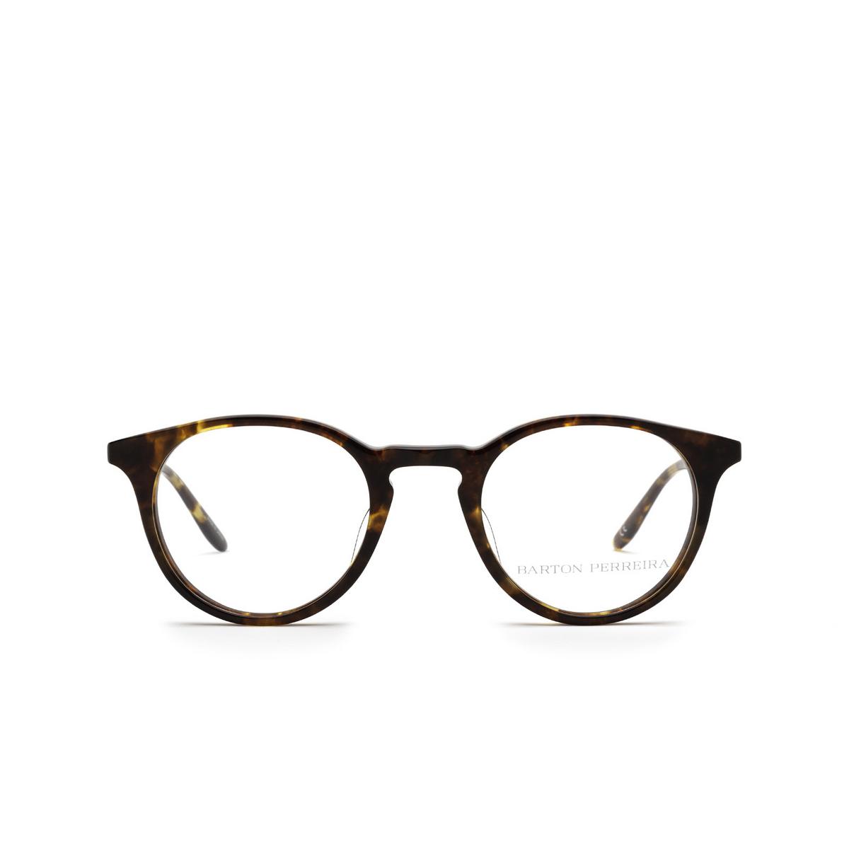 Barton Perreira® Round Eyeglasses: Princeton BP5045 color Chestnut 0LY - front view.