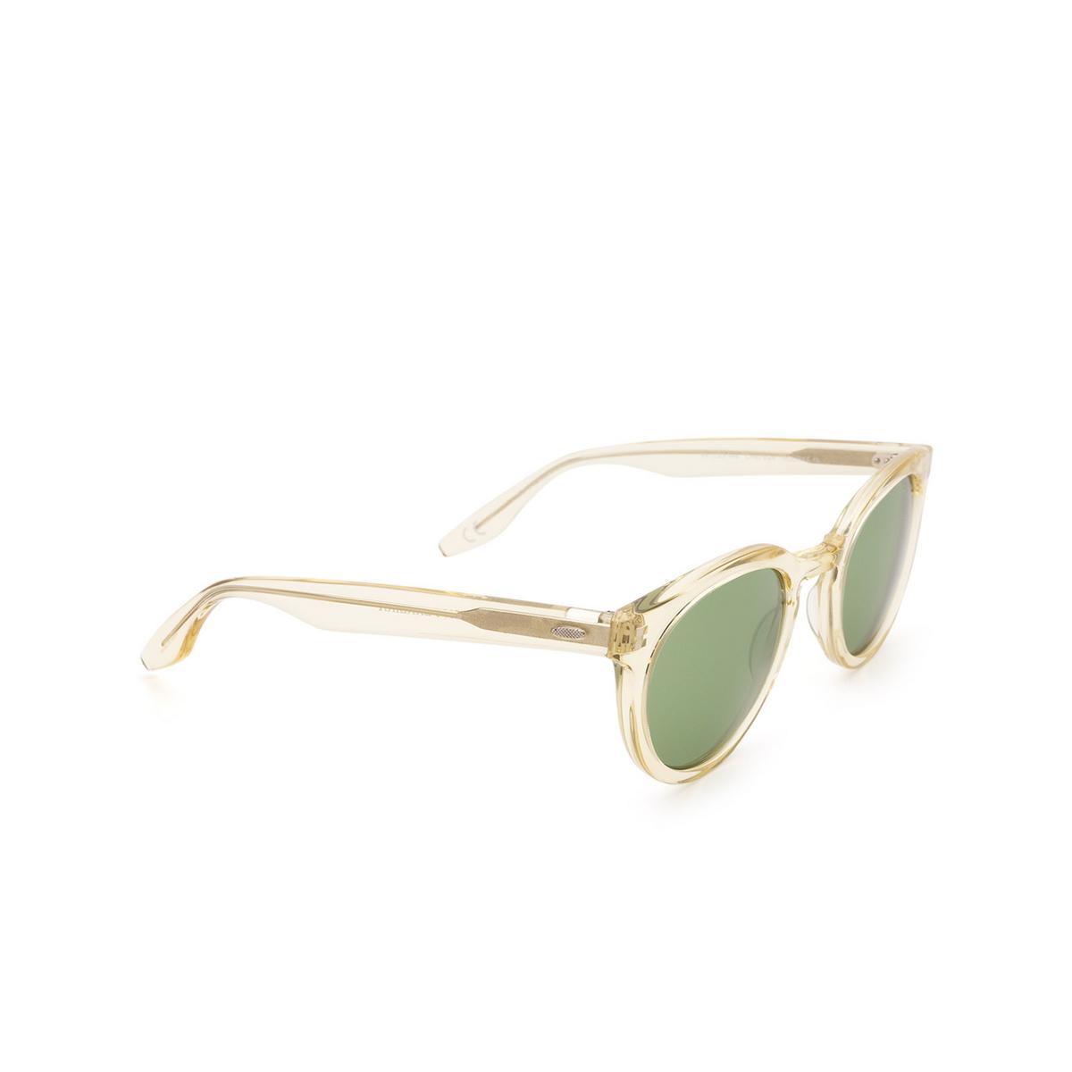 Barton Perreira® Round Sunglasses: Rourke BP0115 color Champagne 0LV.