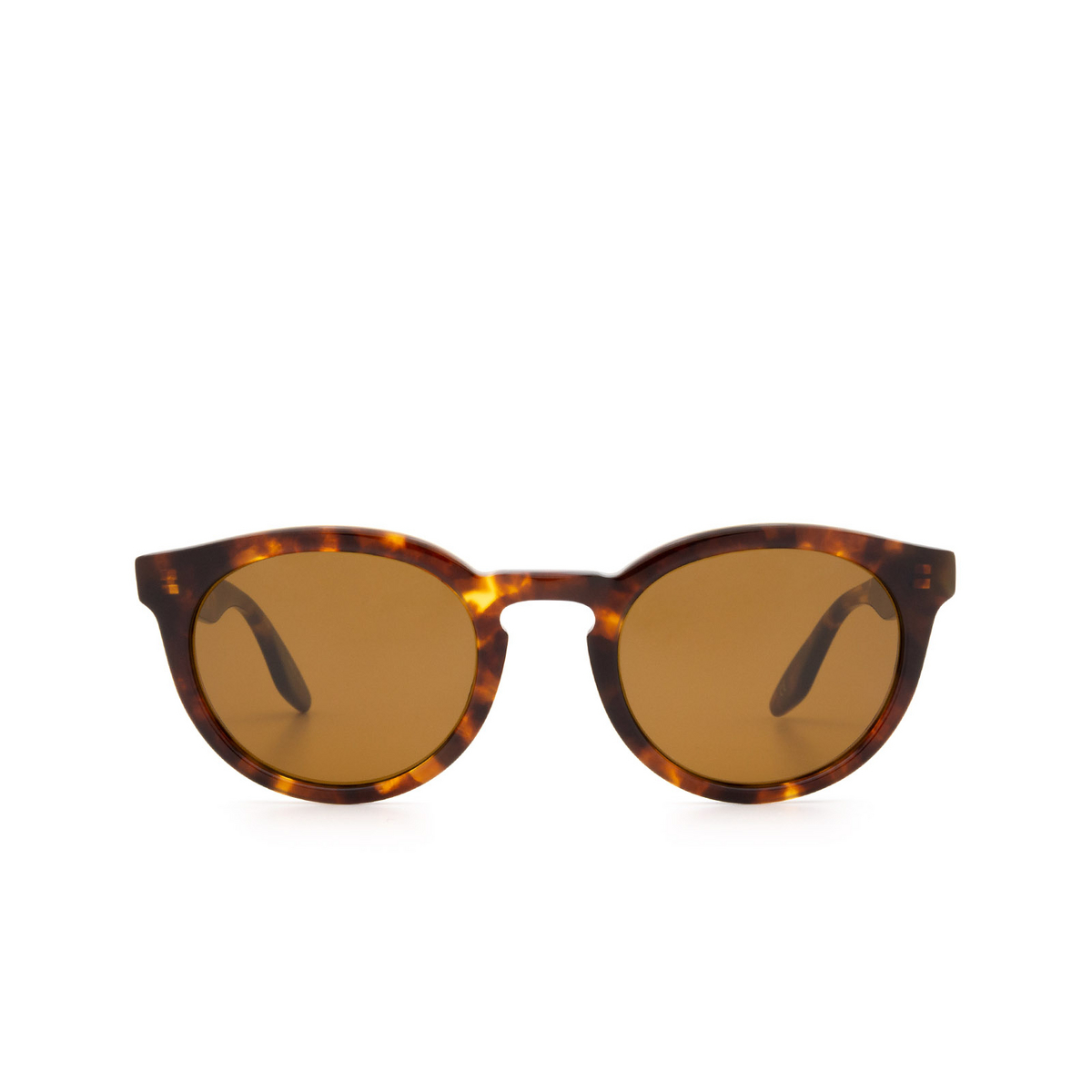 Barton Perreira® Round Sunglasses: Rourke BP0115 color Havana 0MT.