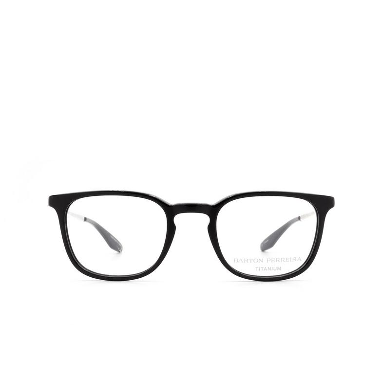 Barton Perreira® Square Eyeglasses: Taupin color Bla/sil.