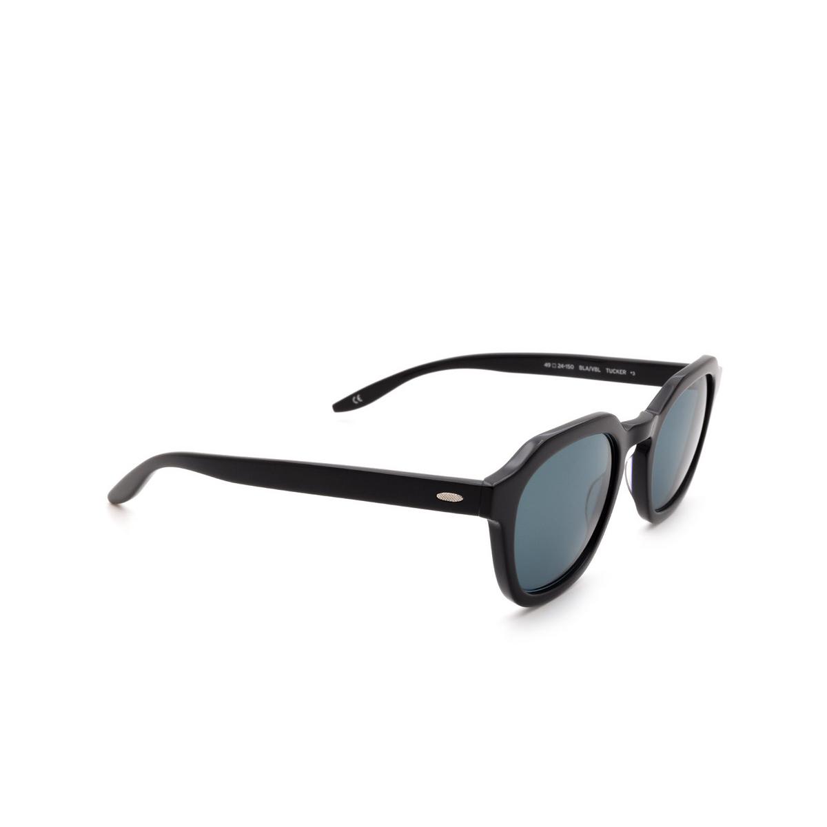 Barton Perreira® Square Sunglasses: Tucker BP0061 color Black 0HF.