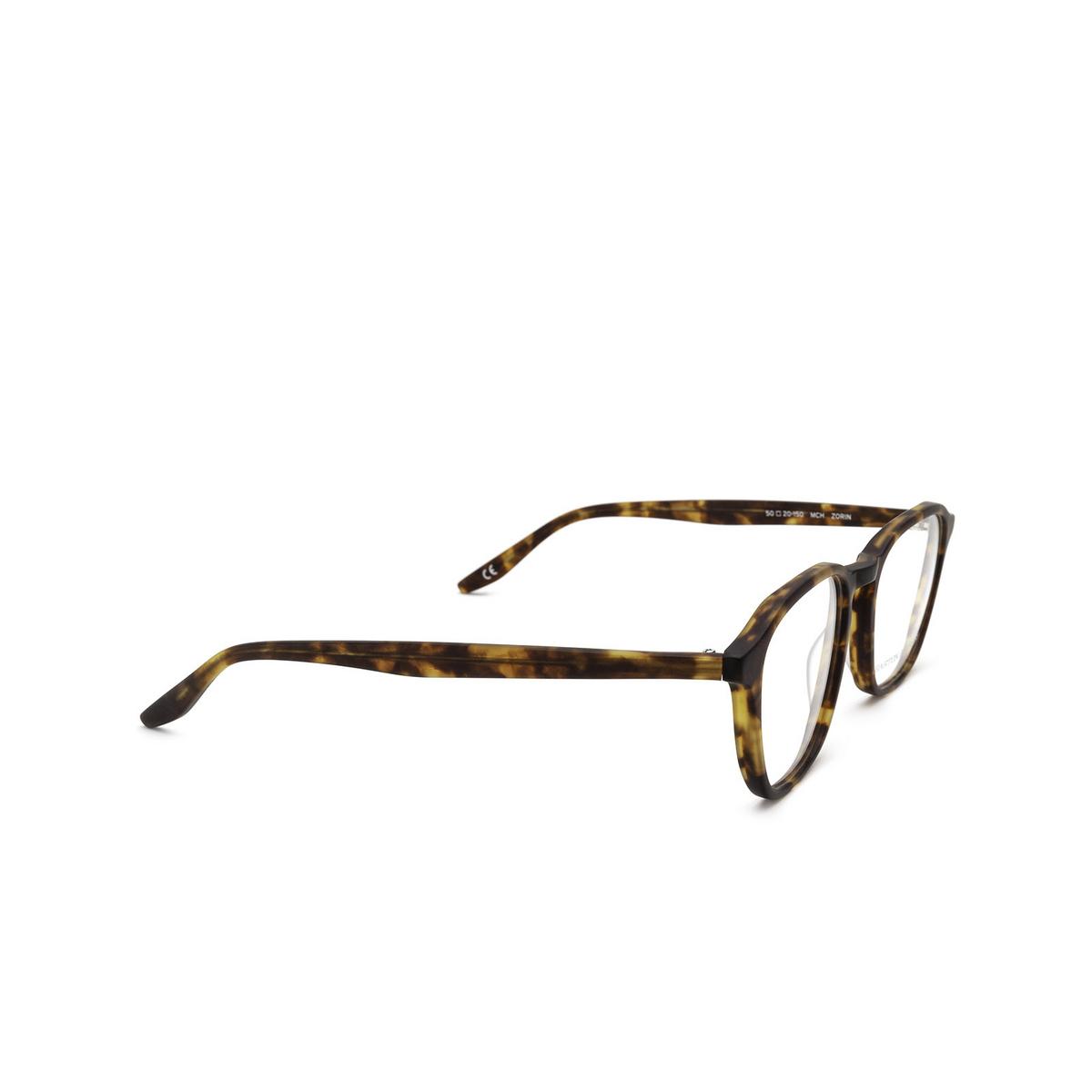 Barton Perreira® Square Eyeglasses: Zorin BP5202 color Matte Chestnut 1IQ - three-quarters view.