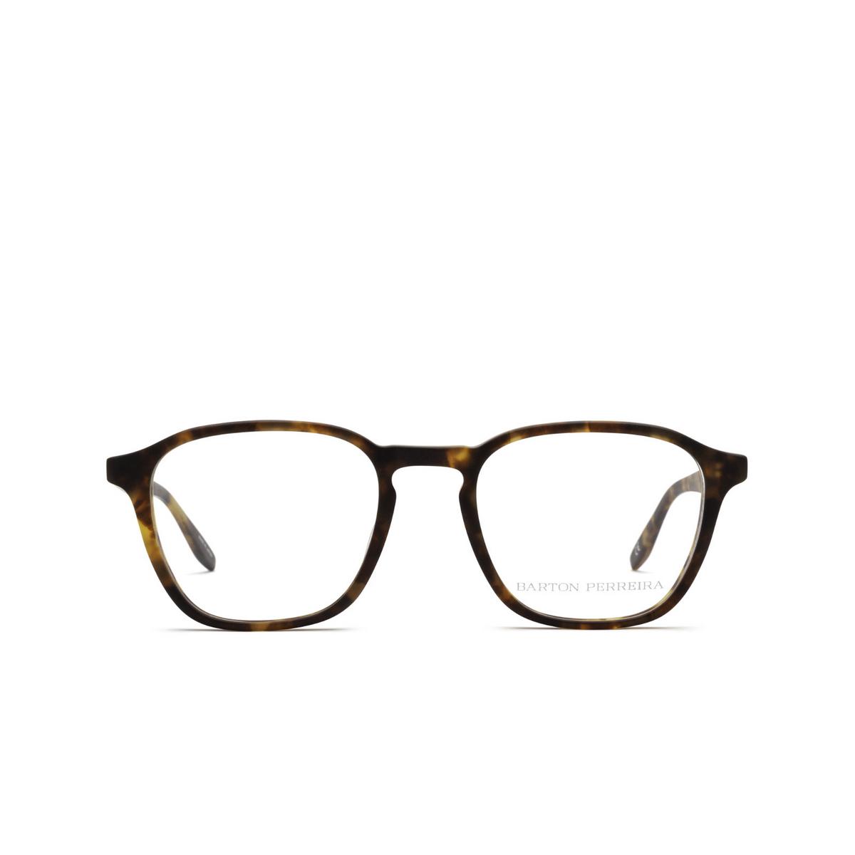 Barton Perreira® Square Eyeglasses: Zorin BP5202 color Matte Chestnut 1IQ - front view.