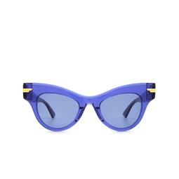 Bottega Veneta® Sunglasses: BV1004S color Blue 004.
