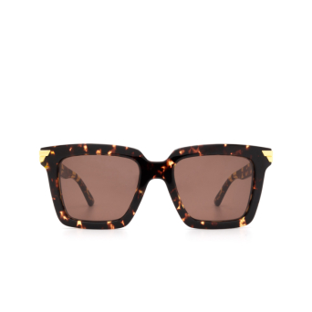Bottega Veneta® Square Sunglasses: BV1005S color Havana 002.