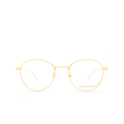 Bottega Veneta® Eyeglasses: BV1016OA color Gold 002.