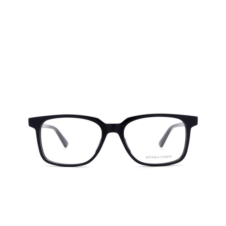 Bottega Veneta® Rectangle Eyeglasses: BV1024O color Blue 004.