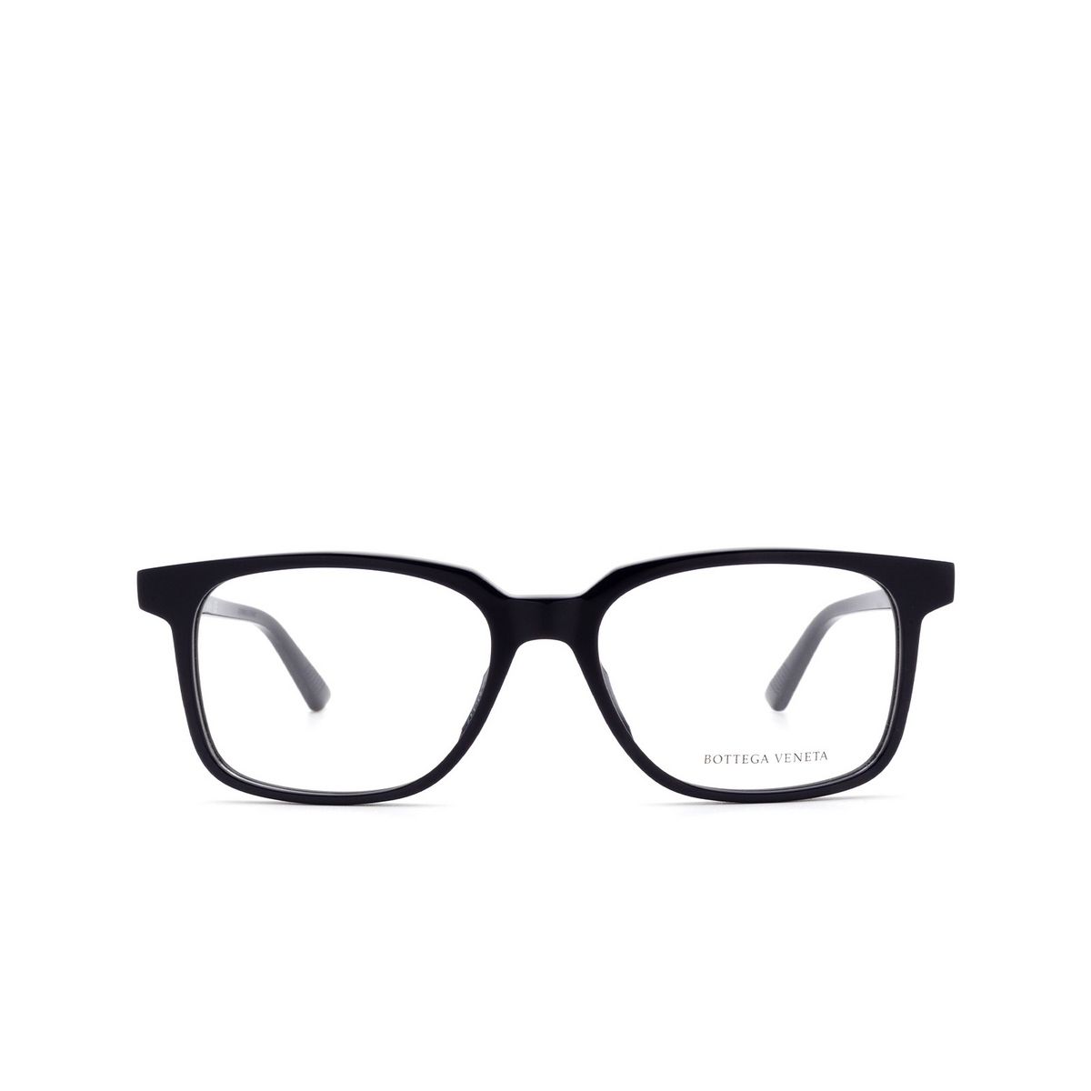 Bottega Veneta® Rectangle Eyeglasses: BV1024O color Blue 004 - front view.