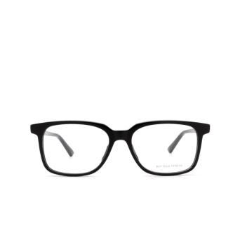 Bottega Veneta® Rectangle Eyeglasses: BV1024O color Black 006.