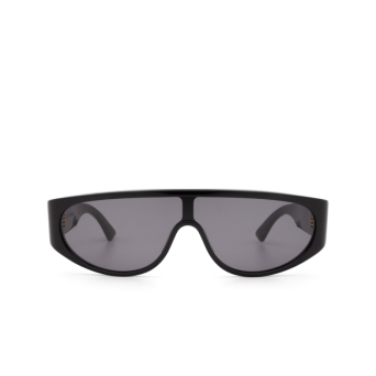 Bottega Veneta® Mask Sunglasses: BV1027S color Black 001.